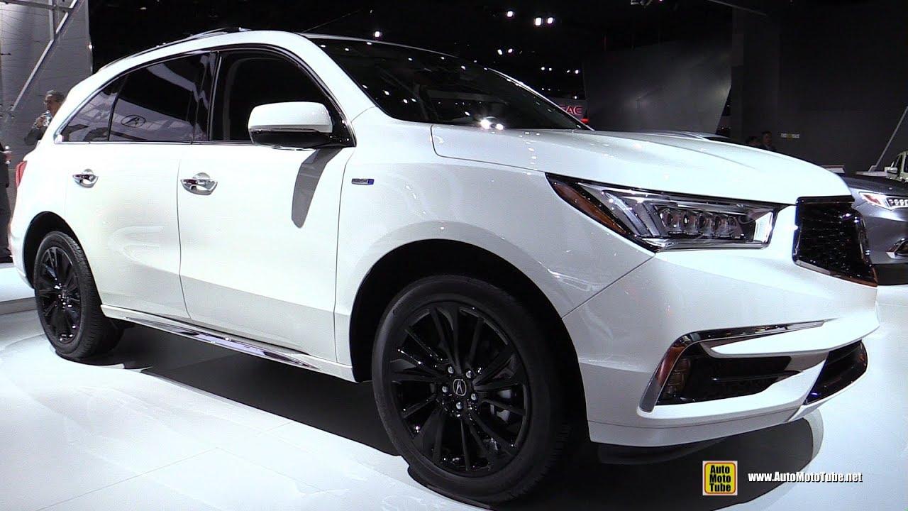 2018 acura mdx hybrid  exterior and interior walkaround