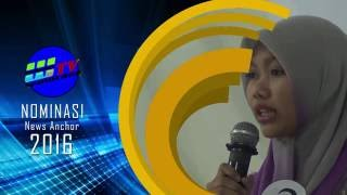 [VIDEO] Pemenang News Anchor Competition WalisongoTV 2016