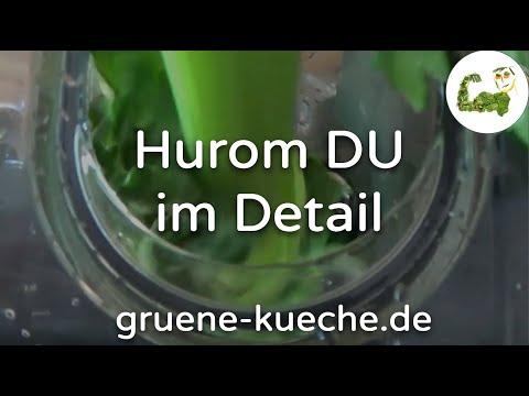 Hurom DU Slow Juicer - Entsafter umfassend vorgestellt (Teile 1 bis 6 komplett)