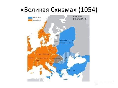 """""""Разделение церкви  11 веке"""" Историческая лекция. Различия Католической церкви от Православной."""