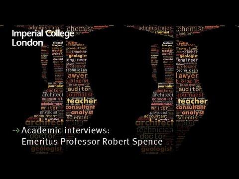 Academic interviews: Emeritus Professor Robert Spence