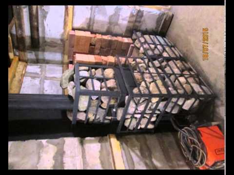 видео: Баня из пеноблоков cвоими руками