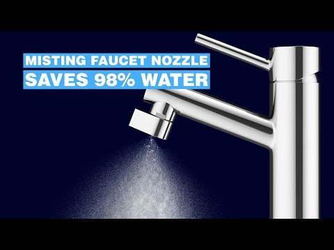 Altered:Nozzle - Misting Faucet Nozzle - Saves 98% Water