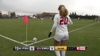 Big Sky Soccer Semifinals vs. Portland State (Nov. 3)