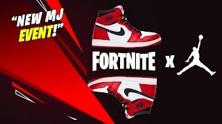 *NEW* FORTNITE x Michael Jordan! NEW Custom SNEAKER SKINS and LTM? EXPLAINED SECRETS!