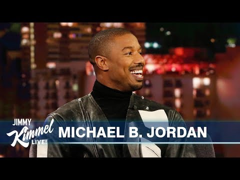 Michael B. Jordan on Jamie Foxx, Kobe Bryant & Just Mercy
