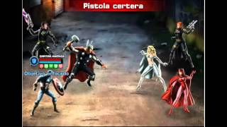 Jugando Marvel: Avengers Alliance Español Juego Facebook casi al 100%