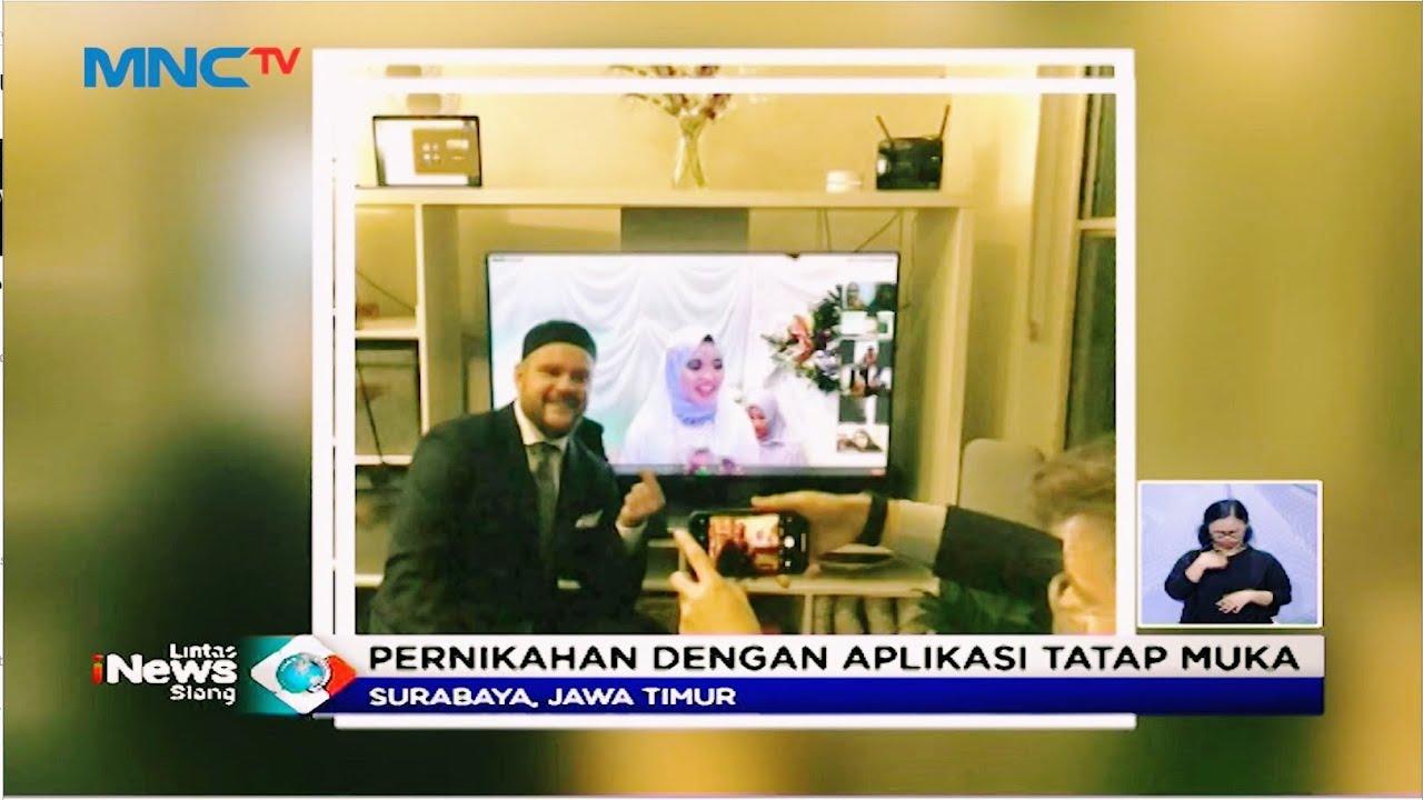 Pernikahan Indonesia-Australia Digelar Secara Virtual - LIS 10/07