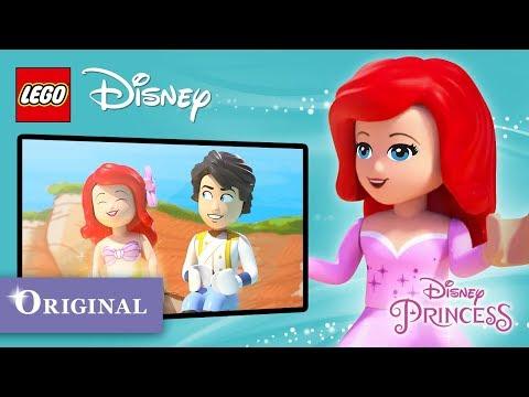 """Ariel in """"Legs at Last"""" - LEGO  Disney Little Stories"""