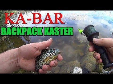 Ka Bar Backpack Kaster Field Test