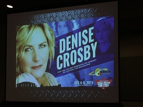 Denise Crosby Panel Phoenix Comicon  Fest 2015