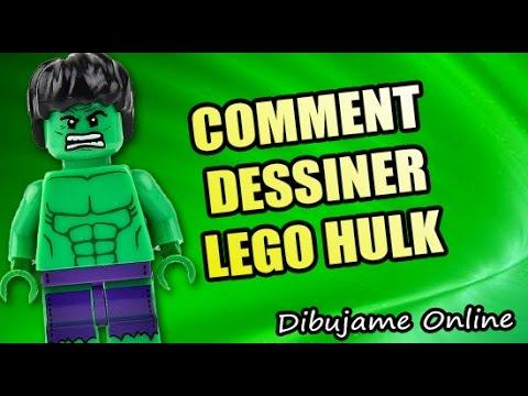Comment Dessiner Lego Hulk Comment Dessiner Lego Hulk Etape Par