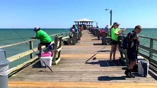 Oceanana Fishing Pier, Resort, and Motel Atlantic Beach NC Video Tour