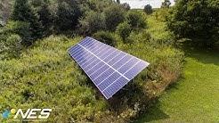 Solar Installation in Cazenovia, NY