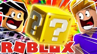 I OPEN MY FIRST LUCKY BLOCK WITH FURIOUS JUMPER IN ROBLOX!!