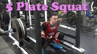 Back In The 5 Plate Squat Club