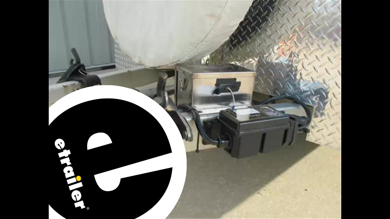 hight resolution of hopkins trailer breakaway kit battery charger installation etrailer com