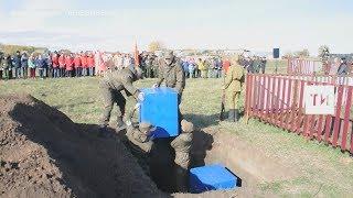 В Спасском районе РТ захоронили останки жертв гражданской войны 1918-1921гг
