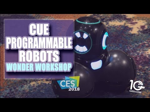 Wonder Workshop Cue Robots Teach Kids To Code