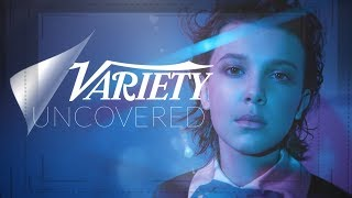 connectYoutube - Millie Bobby Brown - Variety Uncovered - Why she saved her 'Eleven' nose blood