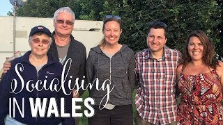Socialising in Anglesey | Bob Earnshaw & The McNeills On Wheels