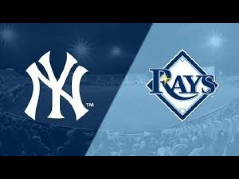 New York Yankees Vs Tampa Bay Rays Gm 2 9/25/2019 FAN Live Stream