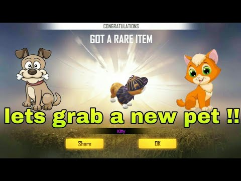 FREE FIRE | LETS GRAB A NEW PET !!!| NEW PET FREE FIRE !!!