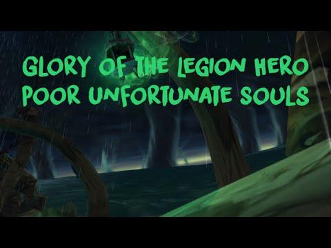Poor Unfortunate Souls - Glory Of The Legion Hero Meta Achievement - Maw Of Souls