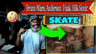 Bruno Mars, Anderson Paak, Silk Sonic - Skate (Official Music Video) - Producer Reaction