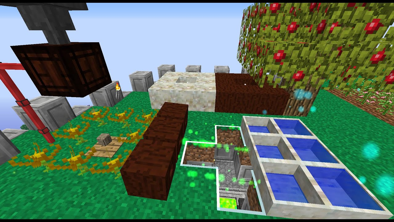 Botania 1 8 9/1 7 1 - Моды для Minecraft