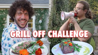 The Ultimate Steak Cooking Challenge Me Vs. Benny Blanco