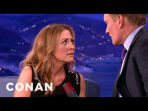 Sasha Alexander Teaches Conan The Art Of The Sultry Look