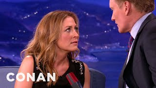 Sasha Alexander Teaches Conan The Art Of The Sultry Look thumbnail
