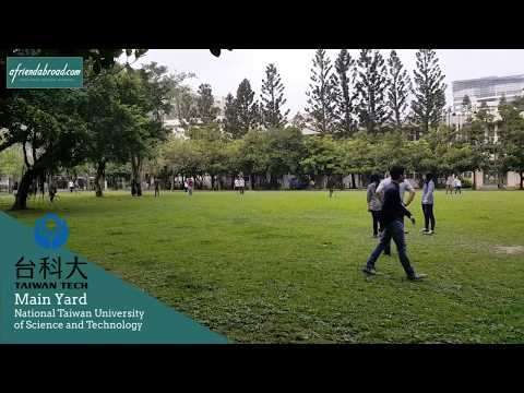 Take a tour of Taiwan Tech's Campus