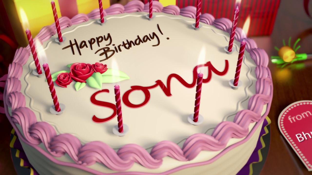 Happy Birthday Sona Youtube