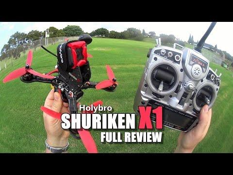 Holybro SHURIKEN X1 - Full Review - [Unbox / Inspection / Flight-CRASH! Test / Pros & Cons]