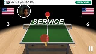 Virtual Table Tennis 3D – 2019-02-15