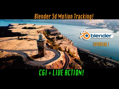 Blender Tracking Tutorial: Add 3d Buildings To Live Action Footage