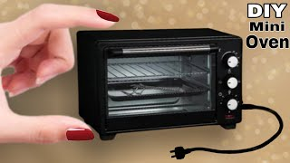 how To Make Small Oven Craft | Mini Oven