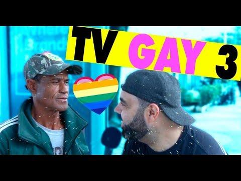 PEGADINHA - E SE VOCÊ ESTIVESSE NA TV GAY - PARTE 3