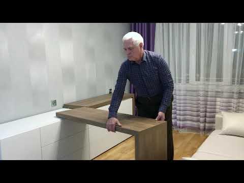 Отзыв покупателя. Мебель Трансформер OLISSYS. #7