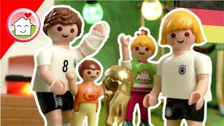 Playmobil Film deutsch - WM 2018 Grillparty bei Familie Hauser - Video für Kinder