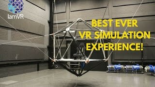 Ultimate and Possibly Best VR Simulator Experience (Cable Robot)