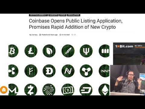 Coinbase Opens Public Listing Application. TRON Network's De