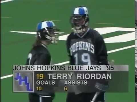 Syracuse vs. Johns Hopkins 1995 lacrosse