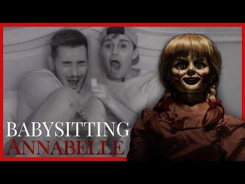 BABYSITTING THE ANNABELLE DOLL!