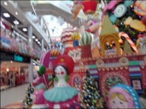 """Краснодар. ТЦ """"СБС-Мегамолл"""". Новогодний рай для детей."""
