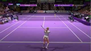 Virtua Tennis 4 2013-01-18 PeteSilva vs. CBeauty1992