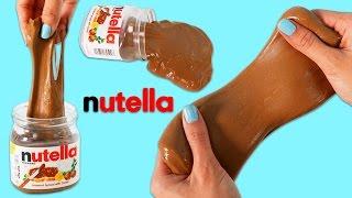 How to Make NUTELLA SLIME | DIY Fun & Easy Fake Dessert Prank!