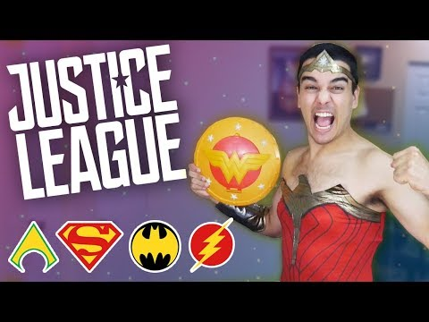 5 EPIC Justice League Movie TOYS! Wonder Woman, Batman, Flash & Superman TOY REVIEWS